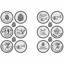 Embellishments / Verzierungen Autoadesiva Scene Sticker
