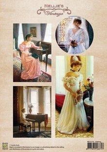 Nellie snellen Carta di formato A4, colore vintage attesa.
