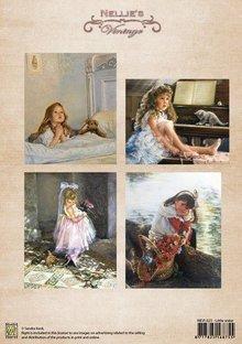 Nellie snellen A4 sheet, vintage little sister