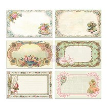 30 pretty picture Notecards - Delight, 30 pieces, 12,7 x7, 62cm