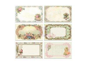 Embellishments / Verzierungen 30 bonitos Notecards imagen - Delicia, 30 piezas, 12,7 x7, 62cm
