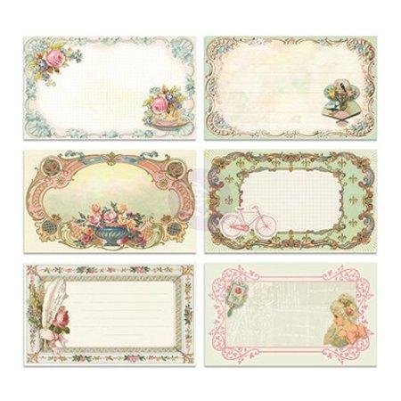 Embellishments / Verzierungen 30 Bild hübsche Notecards - Delight, 30 Stück, 12,7x7,62cm