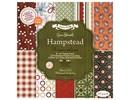 DESIGNER BLÖCKE  / DESIGNER PAPER 20x20cm, papel del diseñador, paquete de papel especial - Hampstead By Jesse Edwards, 20 hojas