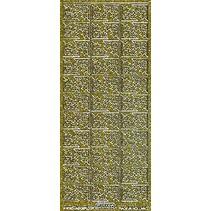 Glitter dekorative mærkat, 10 x 23cm, stjerner.