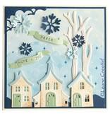 Leane Creatief - Lea'bilities Lea'bilitie, smukke huse, skære- og prægning stencils