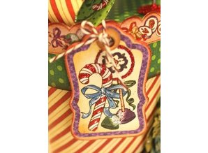 Graphic 45 Nutcracker Sweet Chip Boards & Stickers