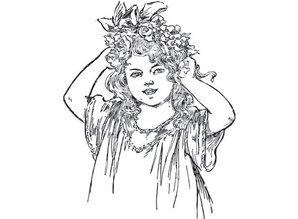 """Marianne Design Marianne Design stamp: """"Vintage Ladies"""""""
