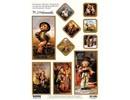 """BILDER / PICTURES: Studio Light, Staf Wesenbeek, Willem Haenraets Stanzbogen: """"MI HUMMEL"""", 1 foglio A4 con motivi diversi"""