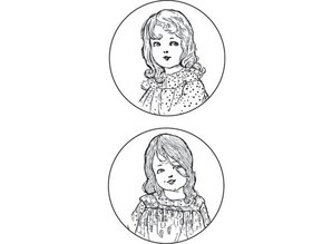 "Stempel / Stamp: Transparent Marianne Design stamp: ""Vintage Ladies"", 2 Themes"