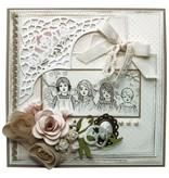 "Stempel / Stamp: Transparent Marianne Design Stempel: ""Vintage Ladies"", 2 Motive"