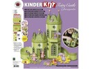 Kinder Bastelsets / Kids Craft Kits Kinder-Kit Feen Schloß mit Blumengarten