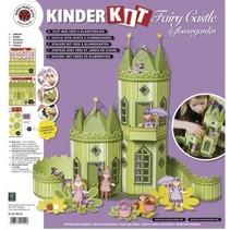 Kids kit hadas castillo con jardín de flores
