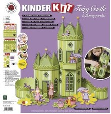 Kinder Bastelsets / Kids Craft Kits Kids Kit fairies castle with flower garden