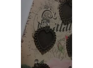 Embellishments / Verzierungen Metal frame - 5 pieces