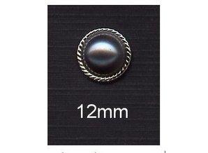 Embellishments / Verzierungen Blå grå, temmelig pakket med grænsen ornament
