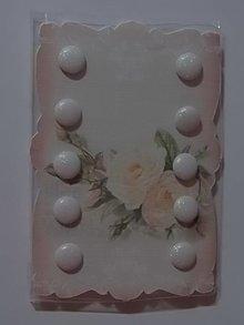 Embellishments / Verzierungen 10 Glitter Brad, 10 millimetri