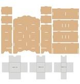 Objekten zum Dekorieren / objects for decorating Opsamlerboksen, multifunktionsenheders 254 x 104 x 360 mm