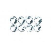 Swarovski kristal kralen om op te strijken, 3 mm, ZB-blister 20 pct, kristal