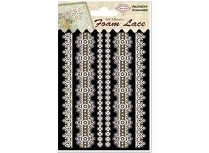 Embellishments / Verzierungen 3D lace edgings, 1 pack