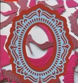 Marianne Design Marianne Design,Oval frame, LR0293, 16 x 19cm