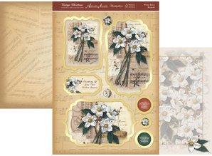 """Exlusiv Luxury Craft Kit card design """"Vintage"""" (Limited)"""