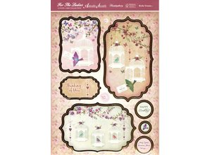 "Exlusiv Luksus Craft Kit card design ""Birdie Dreams"" (begrænset)"