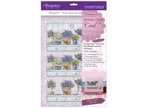 "Exlusiv Luxury Craft Kit card design ""My potted plants"", (Limited)"