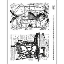 Tema transparente sellos: Costura