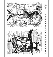 Viva Dekor und My paperworld Transparente Stempel, Thema: Nähen