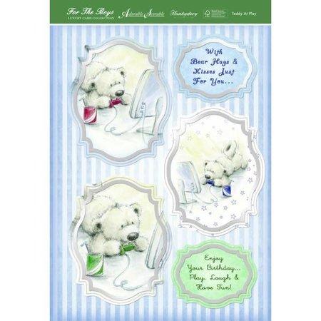 """Exlusiv Artesanía de lujo de diseño de tarjetas Kit """"Mis plantas en macetas"""", (Limited) - Copy"""