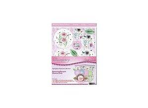 "Exlusiv Luksus Craft Kit card design ""Blomstrende buket"" (Limited)"