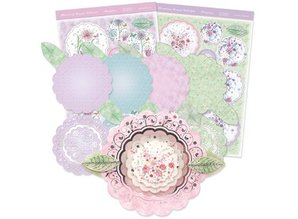"Exlusiv Luxury Craft Kit card design ""Blossoming bouquet"" (Limited)"