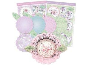 "Exlusiv Luxus Bastelset Karten-Gestaltung ""Blossoming Bouquets"", (Limited)"