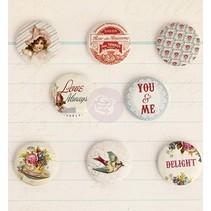 8 botones nostálgicos