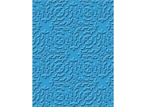 embossing Präge Folder florette, 17.5 x 12.0 cm