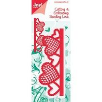 Joy Crafts grens met hart