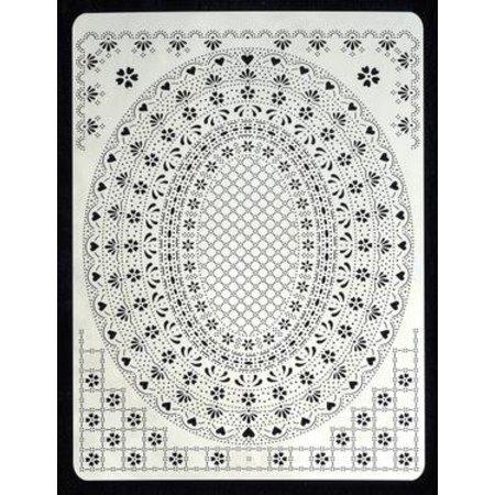 PERGAMENT TECHNIK / PARCHMENT ART Pergamano multi cuadrícula 06, A5