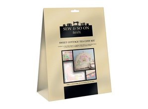 Textil Søde Cottage Tea Cosy Kit