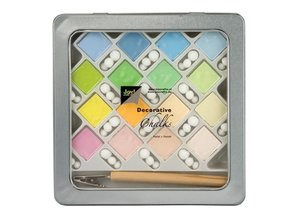 FARBE / INK / CHALKS ... Tizas Tizas de colores - Decoración: Pasteles