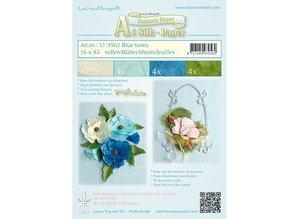 Leane Creatief - Lea'bilities Fantasie Paper für Blumen zu gestalten, 16 Blatt A5