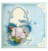 Leane Creatief - Lea'bilities For at gøre fancy papir til blomster, 16 ark A5