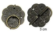 Embellishments / Verzierungen 2 del libro de recuerdos y mango de metal, montado con tornillos con Brad