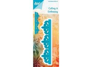 Joy!Crafts und JM Creation Stencil edge the Bourbon lily
