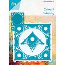 Joy Crafts, skæring og prægning stencil