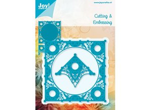 Joy!Crafts und JM Creation + Square corner
