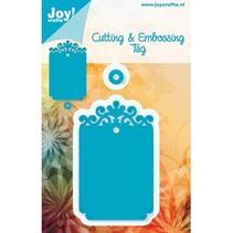Joy Crafts, snij-en embossing stencil