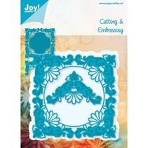 Joy Crafts, snij- en embossing stencil