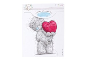 Me to You Håndlavet af - Tatty TEDDY TOPPER (bare en note) - Copy