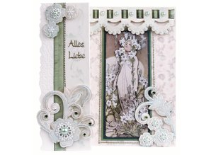 KARTEN und Zubehör / Cards Romantisk Folding NR3