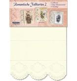 KARTEN und Zubehör / Cards Romantische Faltkarten Nr2